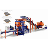 Fully Automatic Fly Ash Brick Making Machine (bw-117)