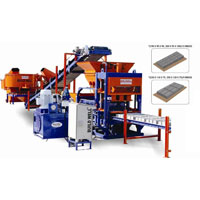 Fully Automatic Fly Ash Brick Making Machine (BW-120)