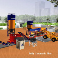 Fully Automatic Fly Ash Brick Making Machine (BW-130)