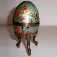 Brass Easter Eggs