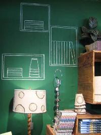 Green Chalkboard Paints