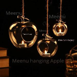 Meenu hanging Apple