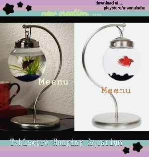 Tableware Hanging Aquarium