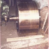 Trunnion Wheel Assembly.