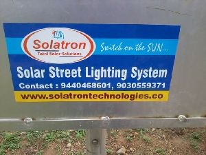 Solatron Solar Street Light Led