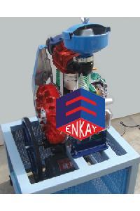4 Stroke 1 Cylinder Diesel Engine - Motor Driven