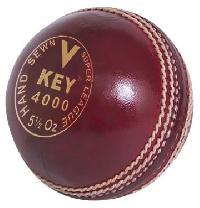 Leather Cricket Ball (V Key-4000)