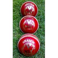 Leather Cricket Ball (V Key-5000 A Grade)