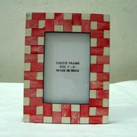 Horn and Bone Photo Frames