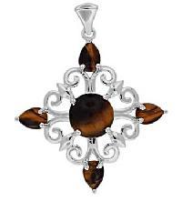Silver Gemstone Pendant - Sgp  008