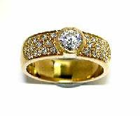 Diamond Studded Rings  - Dr 04
