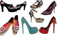 Ladies Embroidered Footwears