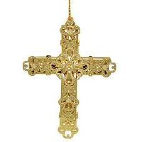 Brass Christmas Cross