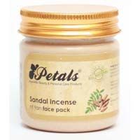 Petals Sandal Incense Face Pack