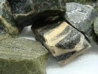 Green Goldstone Rough Stone