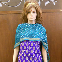 Gadhwal Silk Dress Materials