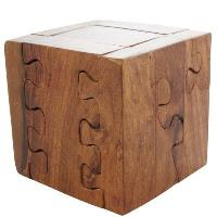 Wooden 3d Jigsaw Puzzle Cube