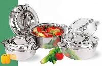 Stainless Steel Double Wall Casserole Set