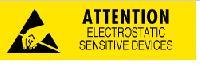 Anti-static Caution Label