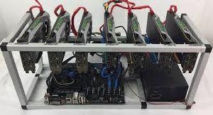 CoinDriller Zcash GPU Mining Rig 6750 Sol s 324 MHs 9x GTX1080TI