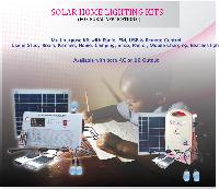 Solar Home Lighting Systems With Led Bulb, Mobile Charger