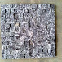 Black Mosaic, Natural Stone, Indian White Onax Marble