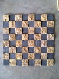 Kadpa Black, Ita Gold Mosaic, Agariya Marble