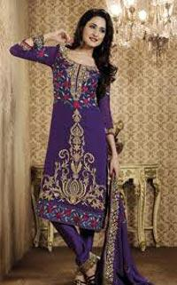 Embroidered Churidar Suits