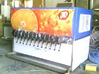 12 Valve Soda Fountain Machine