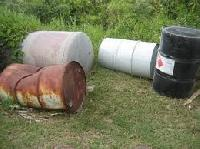 Used Metal Barrels