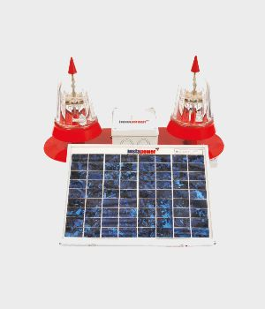 Twin Solar Led Aviation Obstruction Light