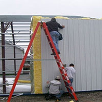 Sheet Erection Service