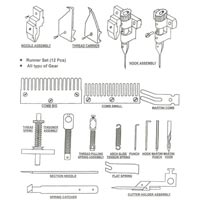 Book Sewing Machine Spare Parts