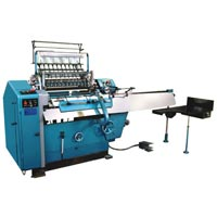 Semi Automatic Thread Book Sewing Machine