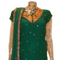 Chiffon Stone Work Salwar Suits