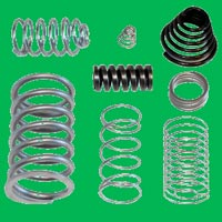 Hot Coiled Compression Springs