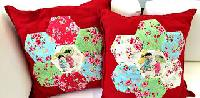 Applique and Patchwork Cushion Covers