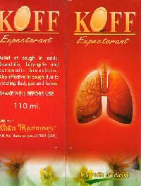 Koff Expectorant Syrup