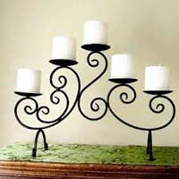 Iron Candle Stand