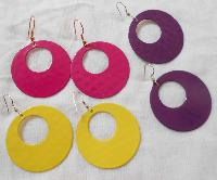 Colorful Metal Artificial Earring