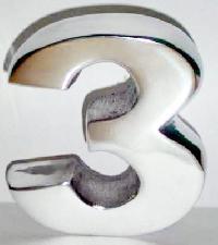 Metal Cast Aluminum Number