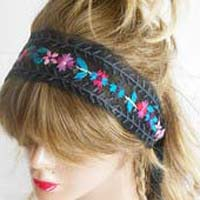 Embroidered Hair Bands