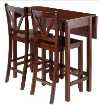 Winsome Trading Lynnwood Dining Table Set