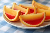 orange fruit jelly
