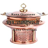 Copper Chafing Dish - (2)