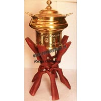 Wooden Chafing Dish Stands