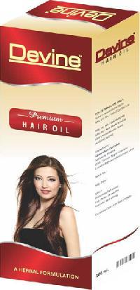 Non Sticky Hair Oil