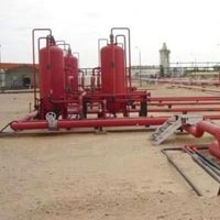 Industrial Fire Hydrant System Installation