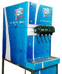 4 Valve Soda Fountain Machine