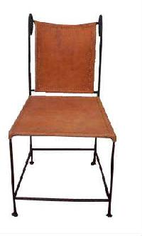 Leather Side Chair Manufacturer Offered By Dimple Leather Crafts